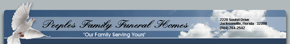 Peeples Family Funeral Homes