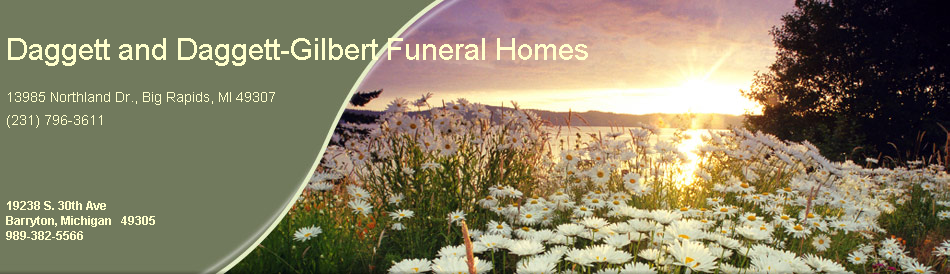 site has been updated, please type daggettgilbertfuneralhome.com direct to address bar. Old site