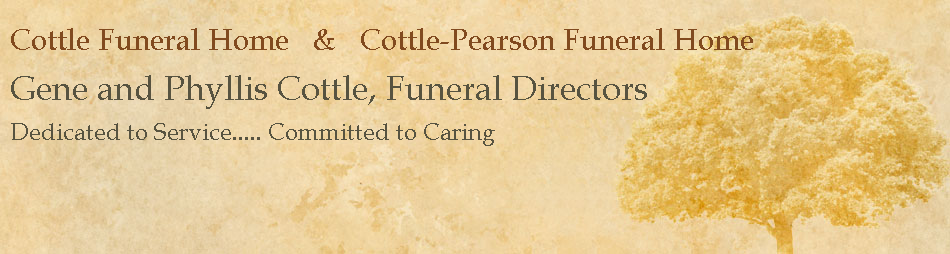 Cottle Funeral Home   &   Cottle-Pearson Funeral Home