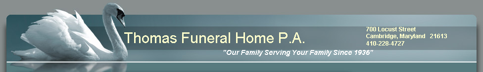 Thomas Funeral Home P.A.