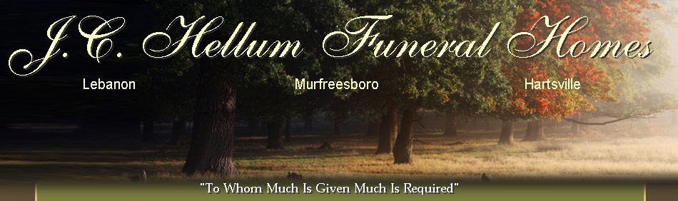 J.C. Hellum Funeral Homes