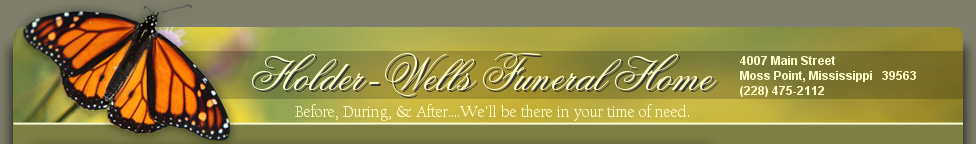 Holder Wells Funeral Home