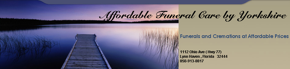 Affordable Funeral Care by Yorkshire