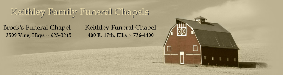 Brock's Funeral Chapel of Hays  &  Keithley Funeral Chapel of Ellis