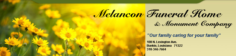 Melancon Funeral Home & Monument Co.