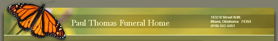 Paul Thomas Funeral Home