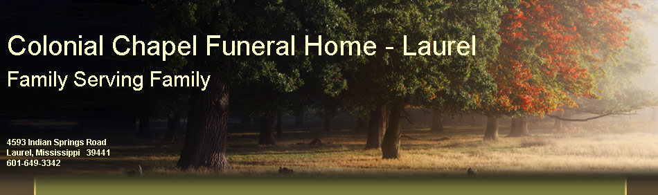 Colonial Chapel Funeral Home - Laurel