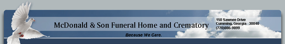 McDonald & Son Funeral Home and Crematory