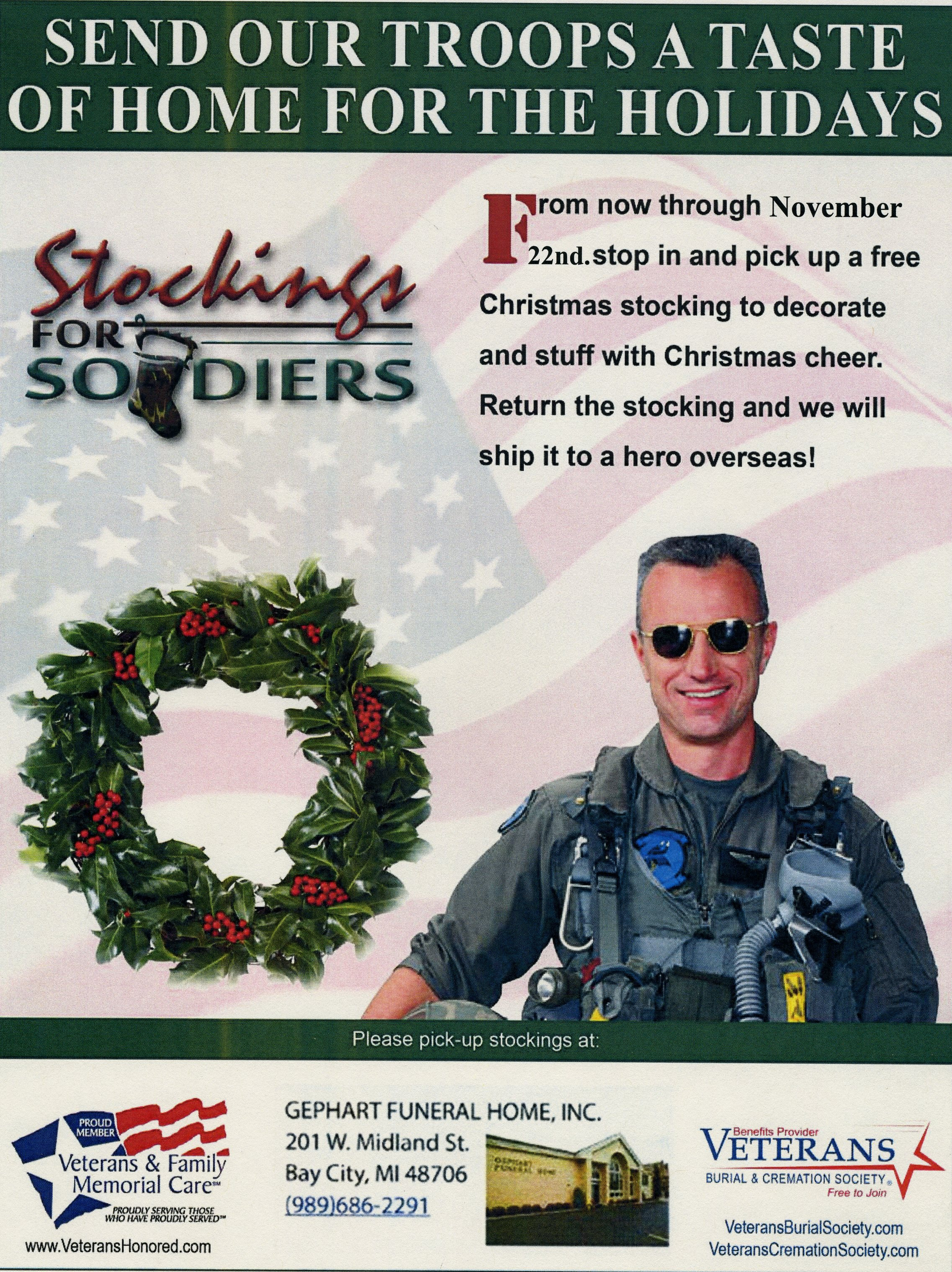 Stockings for soldiers