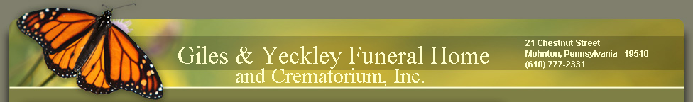 Giles and Yeckley Funeral Home
