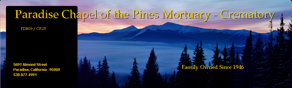 Paradise Chapel of the Pines Mortuary - Crematory