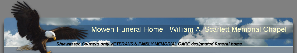Mowen Funeral Home - William A. Scarlett Memorial Chapel