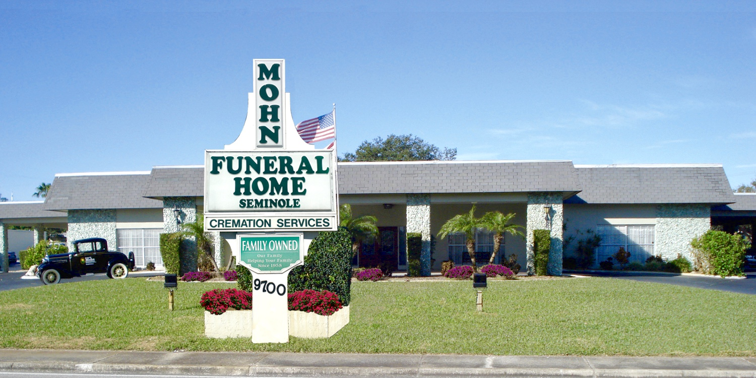 Mohn Funeral Home and Cremation Services : Seminole, Florida