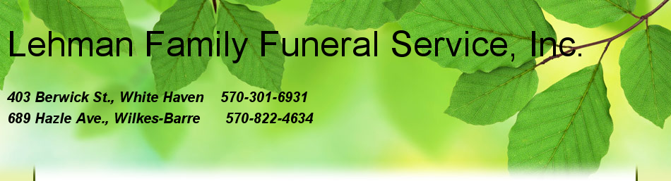 Lehman Family Funeral Service, Inc.
