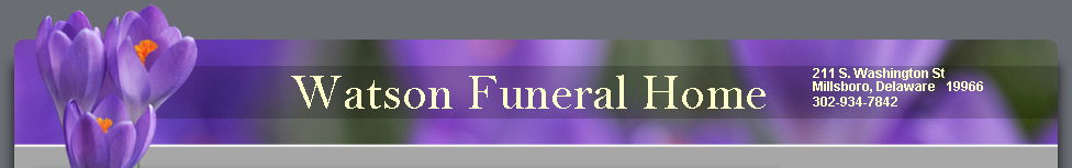 Watson Funeral Home