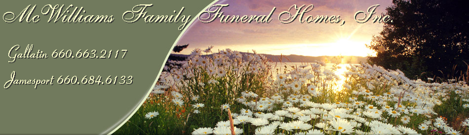 McWilliams Family Funeral Homes, Inc.
