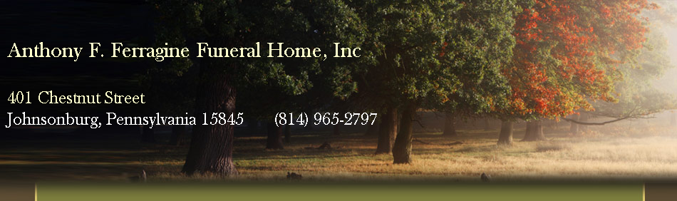 Anthony F. Ferragine Funeral Home, Inc