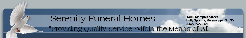 Serenity Funeral Homes Inc.