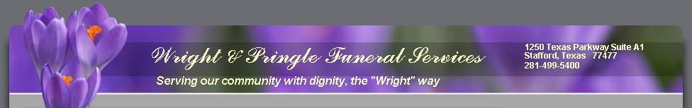 Wright & Pringle Funeral Services