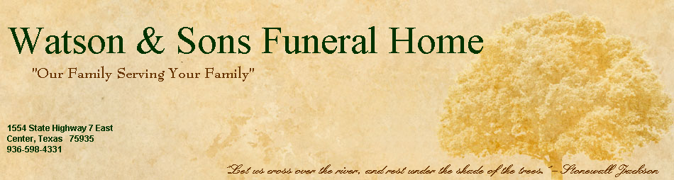 Watson & Sons Funeral Home