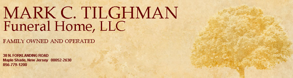 MARK C. TILGHMAN FUNERAL HOME, LLC.