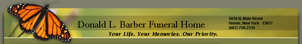 Donald L. Barber Funeral Home