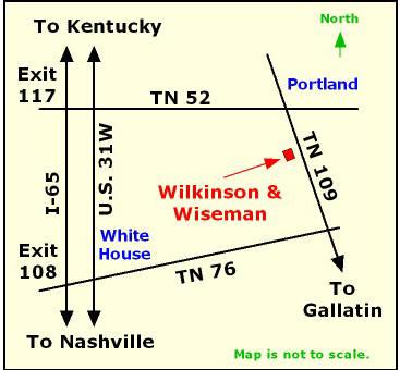 Portland Tennessee Map.Wilkinson Wiseman Funeral Home Facility Wilkinson Wiseman