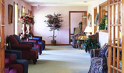 Chandler Funeral Home Foyer