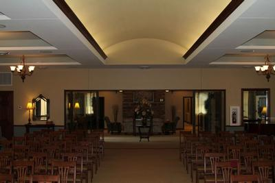 Chapel seating area