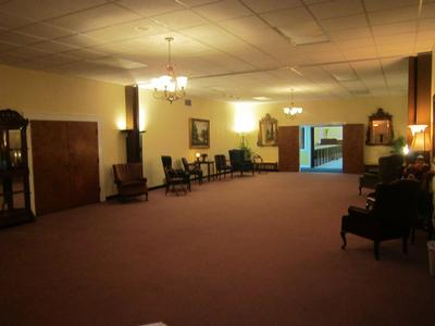 Our Spacious Parlor