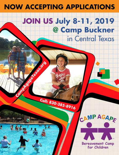 Camp Agape Flyer 2019